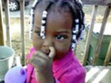 Twenty-two-month-old Tyaijah Destiny Hester was shot and killed by her father, Tyrone Xavier Hester,  who then committed suicide in Durham on May 7, 2011. (Photo courtesy of Facebook)