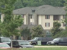 Wolf Creek Apartments, just west of downtown Raleigh, cater to students.