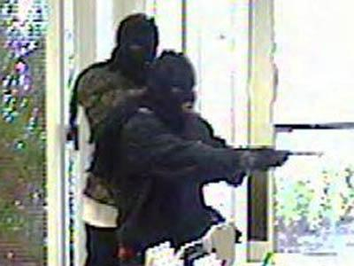 Clayton police are trying to identify two men who robbed a First Citizens Bank branch on U.S. 70 Business on May 18, 2011.
