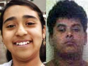 Police believe Nancy Ramirez, left, was abducted on Thursday, June 2, 2011, by Leonardo Velasquez Frias, right.