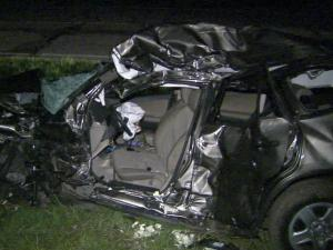 A 17-year-old girl died in a crash early Tuesday, June 14, 2011, after she turned in front of a semi-truck in Edgecombe County, according to troopers.