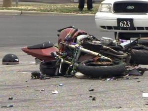A motorcyclist was killed on June 17, 2011, when he crashed into an SUV in Cumberland County while trying to flee a state trooper.