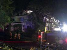 Lightning to blame for Raleigh bed and breakfast fire
