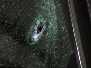A gunman opened fire on a car on I-540 near U.S. 70 on June 22, 2011. Police said road rage likely prompted the shooting.