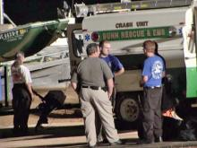 Authorities searched Lake Royale Saturday, July 2, 2011, after a boy reportedly disappeared underwater, police said.