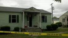 IMAGE: Baby, mother die in fire at Camp Lejeune home