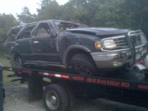 A family of eight was returning home to New York Saturday from Disney World when their SUV rolled over and ran off the road on Interstate 95 near Wilson, according to the state Highway Patrol. Three women were killed in the wreck.