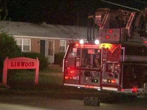 An Apex officer spotted a fire in the Linwood Apartment complex around midnight Tuesday, Aug. 23, 2011, and awakened the residents so they could get out safely, police said.