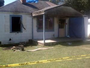Authorities responding to a report of shots fired from a house in the 500 block of East Lake Street in Robbins on Aug. 29, 2011, found the house ablaze and two dead bodies inside.
