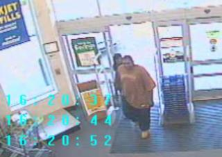 Apex police are asking for the public's help in identifying the person in this photo.