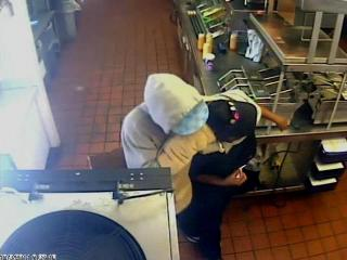 Fayetteville police released this surveillance photograph of a man who robbed a Taco Bell at 2819 Raeford Road around 9:30 a.m. on Monday, Oct. 3, 2011.
