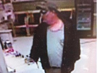 Garner police are searching for this man in connection with an attempted robbery Saturday morning at the Rite Aid on Timber Drive.