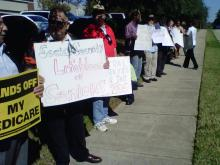 Social Security offices picketed over possible cuts