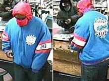 Images from surveillance video of several robberies at Raleigh convenience stores since Oct. 26, 2011. Anyone with information about the crimes can call Raleigh Crime Stoppers at 919-834-4357.