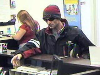 Fayetteville police say this man robbed an RBC Bank branch on Village Drive on Nov. 18, 2011.
