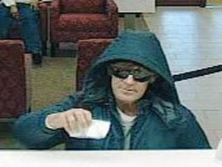 Durham police are searching for a man who robbed a Wells Fargo branch at 900 W. Club Blvd. on Dec. 19, 2011.