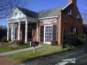 A BB&T branch on Rosemary Street in Chapel Hill was robbed on Dec. 23, 2011.