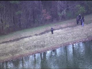 A woman's body was found Friday, Dec. 23, 2011, in Parkwood Lake in Durham.