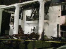 Edgecombe mansion consumed by flames