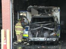 Wake EMS fire