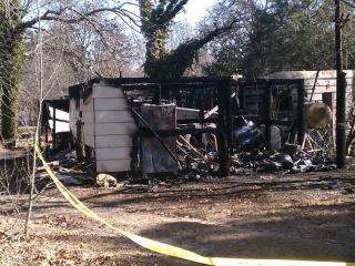 Two people were killed on Jan. 4, 2012, when a mobile home at 257 Heflin Road, off U.S. Highway 15/501 near Aberdeen, caught fire.