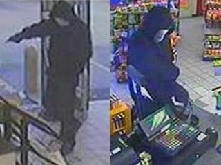 Surveillance images from the Family Fare BP in Durham on Jan. 2, 2012.