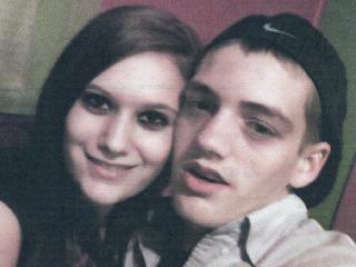 Kaitlin Vandyke and Logan Barefoot