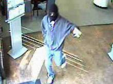 Feb. 2, 2012, surveillance image of BB&T Bank at 3701 Barrett Drive in Raleigh.