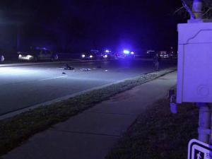 A woman was seriously injured Thursday evening when she was hit by a car at the intersection of Duraleigh and Pleasant Valley roads in Raleigh, police said.