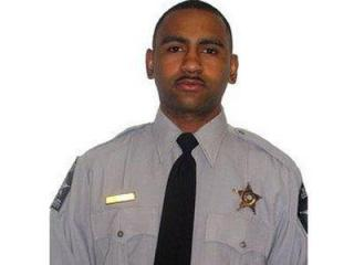 Wake County Sheriff's Deputy Tavares Thompson.