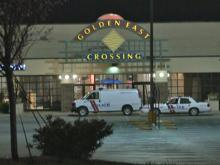 Police evacuated Rocky Mount's Golden East Crossing Mall on Saturday night about an hour before the scheduled closing time.