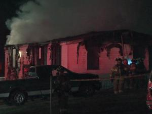 Raleigh fire crews responded a call about a fire at 291 Kings Pkwy just after 1 a.m. Thursday morning.