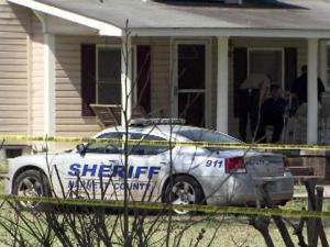 A man and a woman were found dead inside a home near Coats on March 23, 2012.