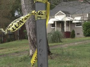 A 15-year-old was injured when the occupants of a red Cadillac opened fire on people at a party in the front yard of a house at 125 Bertie Drive shorlty after 1 a.m. Sunday, March 25, 2012.