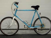 Authorities say a man rode this bicycle to a BB&T Bank branch in Apex on March 29, 2012, before robbing it and fleeing in a stolen car.