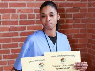 Faraah Christine Anderson was shot and killed in the McDougald Terrace apartment complex in Durham on Monday, April 16, 2012. (Photo courtesy of Facebook)