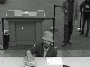 Goldsboro police are trying to identify a man who robbed the Wells Fargo bank at 301 E. Ash St. around 10:15 a.m. on Tuesday, April 24, 2012.