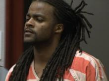 Daquain Rashad Richardson makes his first court appearance Wednesday, April 25, 2012, in connection with the shooting death of Daniel Lavon Norris.