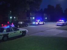 Durham police investigate after a man was shot to death early in an apartment complex at 3307 Mordecai St. around 2:30 a.m. Tuesday, May 1, 2012.