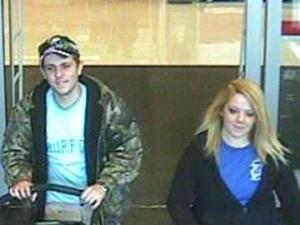 These people are wanted for questioning in a larceny at Target.