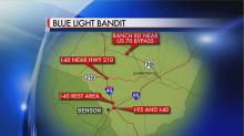 IMAGES: Smithfield reports fifth blue-light bandit sighting