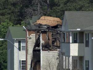 A fire at the Heritage Apartments at 1069 Pine Knoll Drive Spring Lake early Saturday, May 5, 2012 displaced at least a dozen people, according to Cumberland County firefighters.