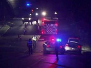 A man was injured in Durham Thursday night after he fled from Alcohol Law Enforcement agents, leading them on a chase down North Miami Boulevard, police said.