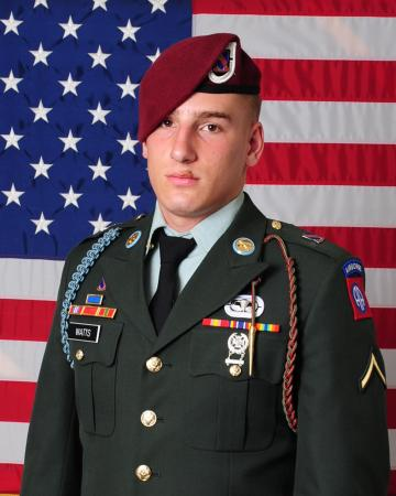 Spc. Samuel T. Watts, 20, of Wheaton, Ill., died Saturday, May 19, 2012 at Walter Reed Army Medical Center in Bethesda, Md., of wounds sustained in Afghanistan.
