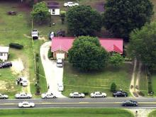 Body search at Creedmoor Road house