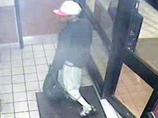 Fayetteville police said they are searching for two men believed to have robbed five fast-food restaurants across the Sandhills region between May 18 and May 22, 2012.