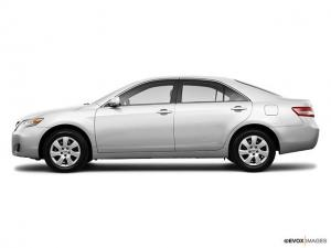 Henderson police say a man stole a white 2010 Toyota Camry (similar to the one pictured) with North Carolina registration ZTH-4269 on June 5, 2012.