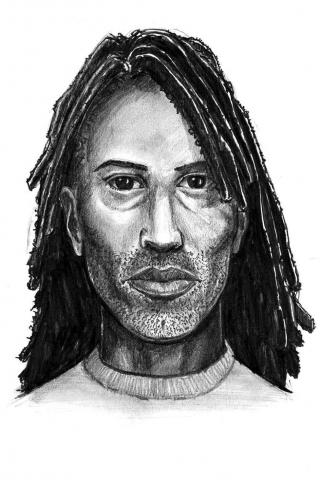 Fayetteville police are looking for a man who raped a woman in a park near Bragg Boulevard on June 3, 2012.