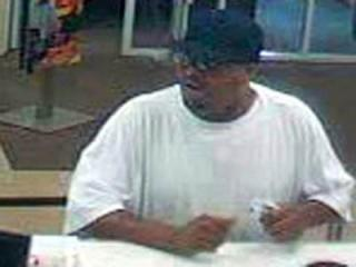 Raleigh police were searching for a man who robbed a Wells Fargo branch on Millbrook Road on June 25, 2012.
