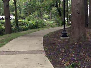Linear Park in Fayetteville